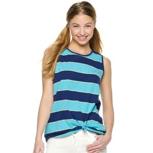 NWT SO juniors Printed Muscle Tank Top. Small